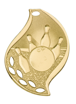 BOWLING FLAME SPORT MEDAL