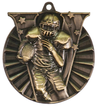 FOOTBALL VICTORY SPORT MEDAL