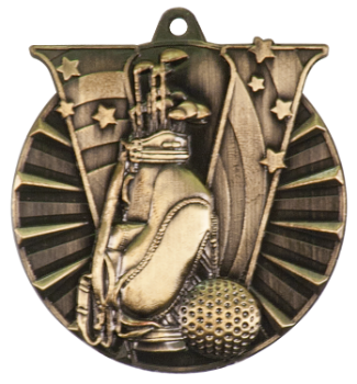 GOLF VICTORY SPORT MEDAL