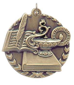 LAMP OF KNOWLEDGE MILLENNIUM MEDAL