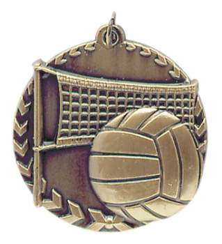 VOLLEYBALL MILLENIUM MEDAL