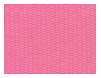 SOLID PINK NECK RIBBON WITH SNAP CLIP