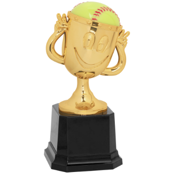 Softball Happy Cup Trophy