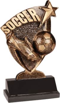 Soccer Broadcast Resin Award
