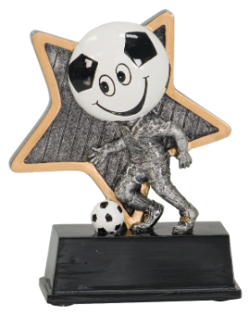 Little Pal Soccer Resin Award