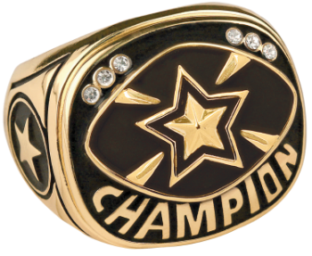 Gold Star Champion Ring