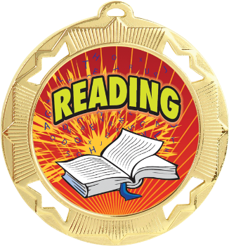 Full Color Reading Medal