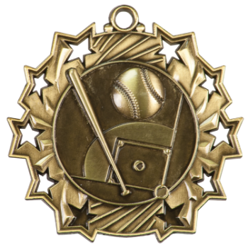 Baseball/Softball Ten Star Medal
