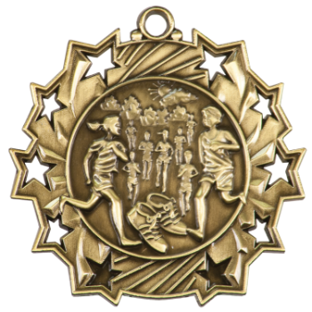 Cross Country Ten Star Medal