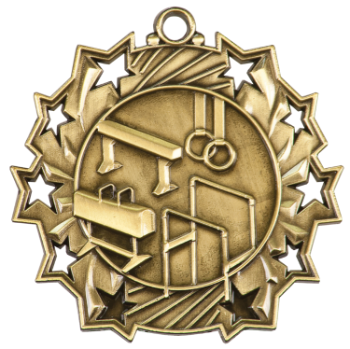 Gymnastics Ten Star Medal