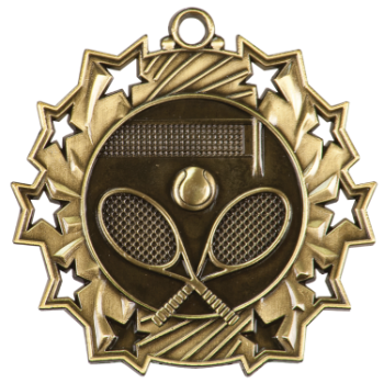 Tennis Ten Star Medal