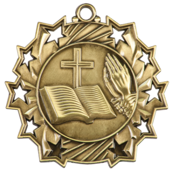 Religious Ten Star Medal
