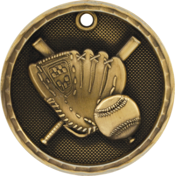 Baseball/Softball 3D Medal