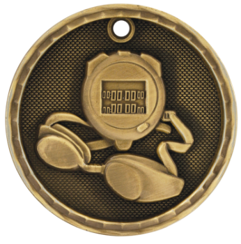 Swimming 3D Medal