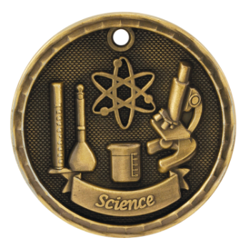 Science 3D Medal