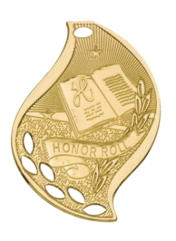 Honor Roll Flame Medal