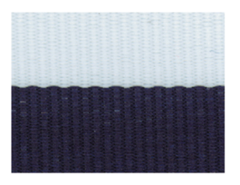 Navy/Blue/White Neck Ribbon with Snap Clip